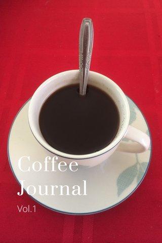 Coffee Journal Vol.1