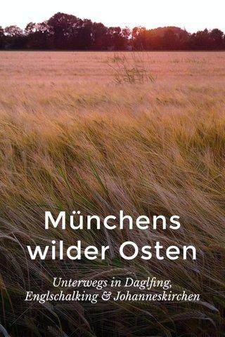 Münchens wilder Osten Unterwegs in Daglfing, Englschalking & Johanneskirchen