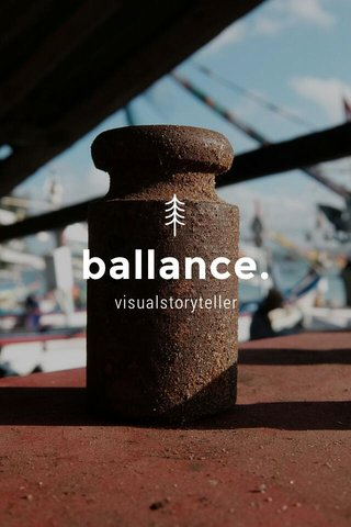ballance. visualstoryteller