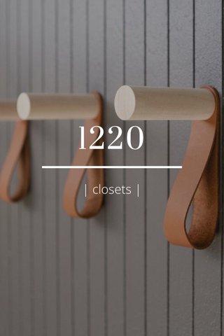 1220 | closets |