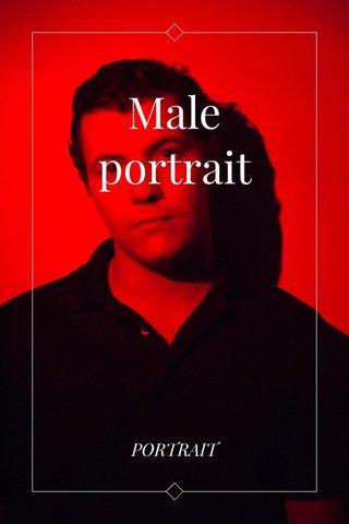 Male portrait PORTRAIT