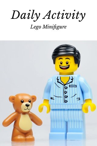 Daily Activity Lego Minifigure