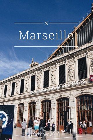 Marseille October 2016