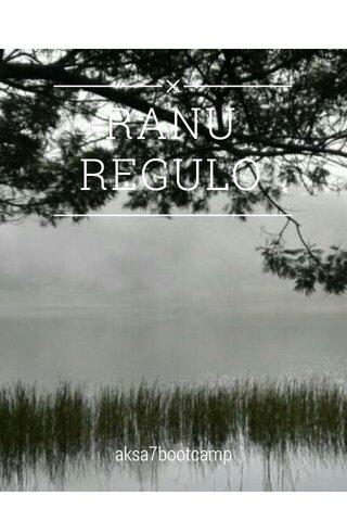 RANU REGULO aksa7bootcamp