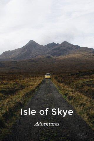 Isle of Skye Adventures