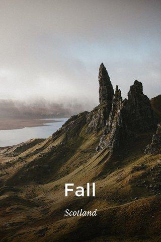 Fall Scotland
