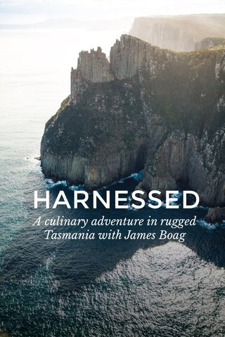 HARNESSED A culinary adventure in rugged Tasmania with James Boag