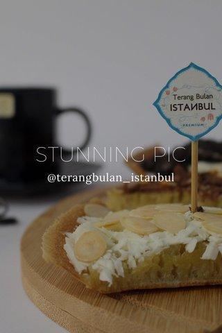 STUNNING PIC @terangbulan_istanbul