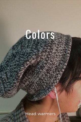 Colors Head warmers