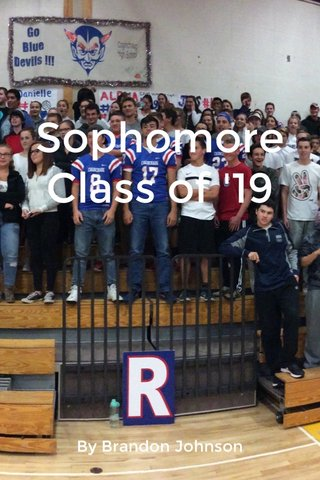 Sophomore Class of '19 By Brandon Johnson