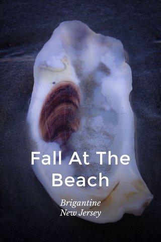 Fall At The Beach Brigantine New Jersey