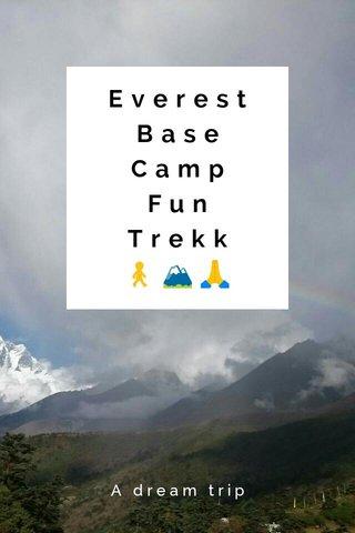 Everest Base Camp Fun Trekk 🚶🏔🙏 A dream trip