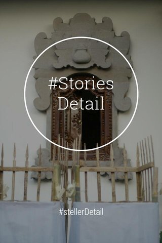 #StoriesDetail #stellerDetail