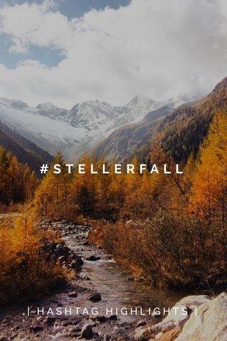 #STELLERFALL | HASHTAG HIGHLIGHTS |