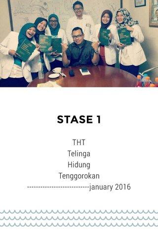 STASE 1