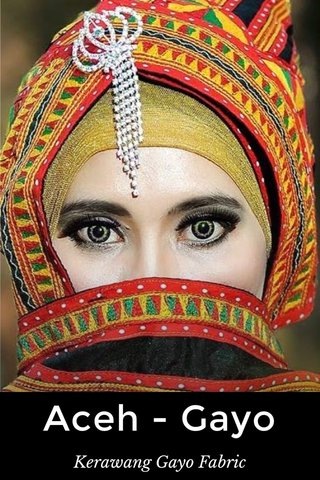 Aceh - Gayo Kerawang Gayo Fabric