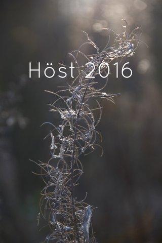 Höst 2016