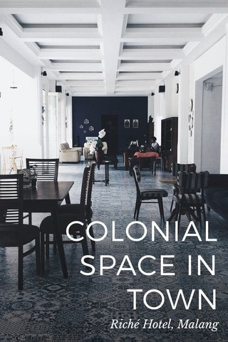 COLONIAL SPACE IN TOWN Riché Hotel, Malang