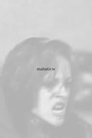 mahatir.w
