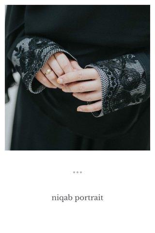 niqab portrait