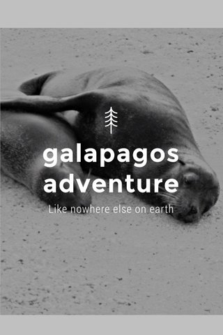 galapagos adventure Like nowhere else on earth