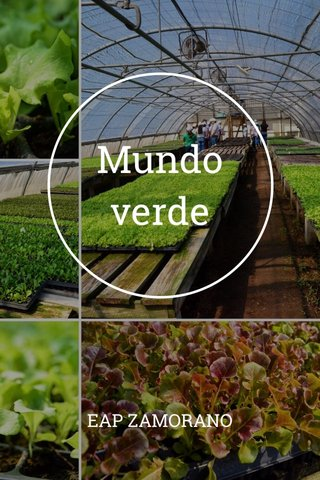 Mundo verde EAP ZAMORANO