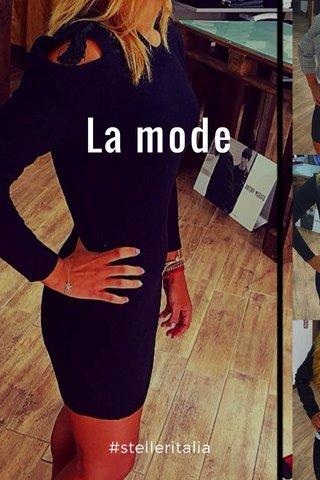 La mode #stelleritalia