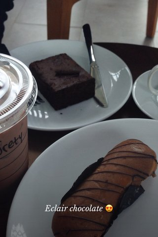Eclair chocolate 😍