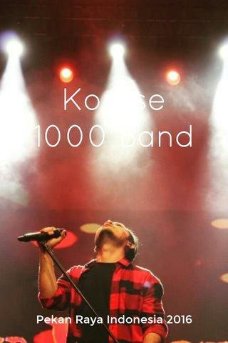 Komse 1000 Band Pekan Raya Indonesia 2016
