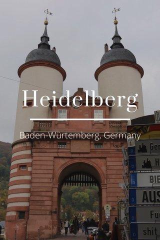 Heidelberg Baden-Würtemberg, Germany