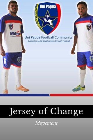 Jersey of Change Movement