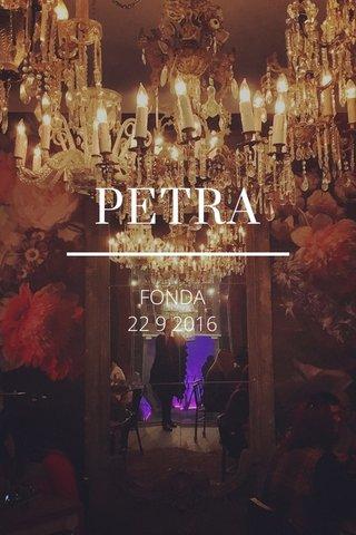 PETRA FONDA 22 9 2016