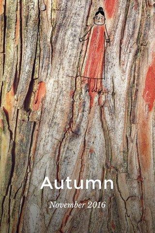 Autumn November 2016