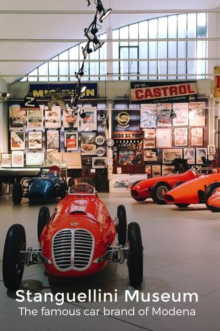 Stanguellini Museum The famous car brand of Modena