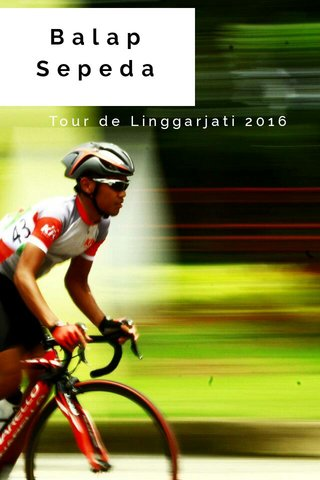 Balap Sepeda Tour de Linggarjati 2016