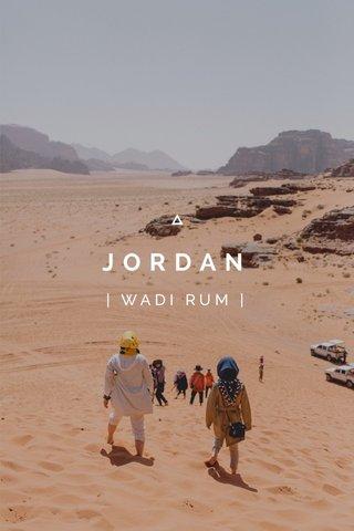 JORDAN | WADI RUM |