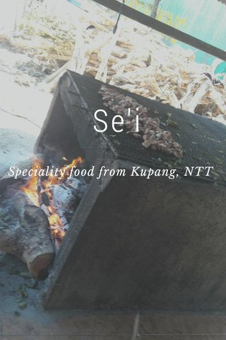 Se'i Speciality food from Kupang, NTT