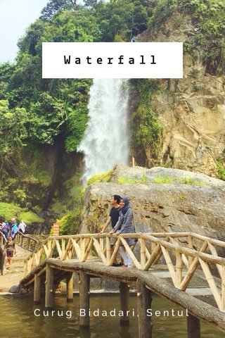 Waterfall Curug Bidadari, Sentul