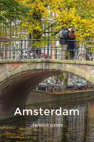 Amsterdam Autumn scenes