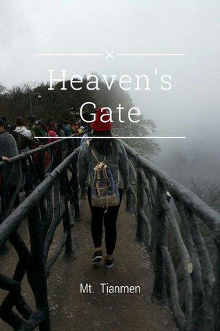 Heaven's Gate Mt. Tianmen