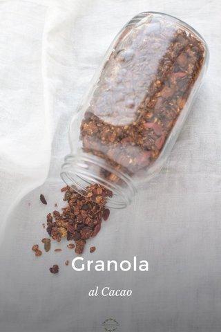 Granola al Cacao
