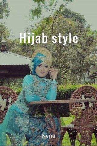Hijab style Nena
