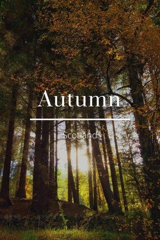 Autumn Scotland