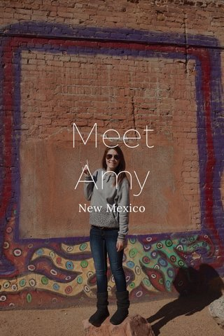 Meet Amy New Mexico