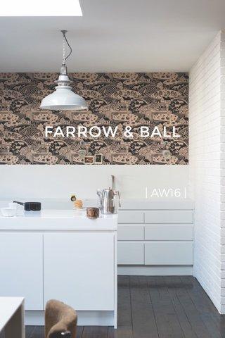 FARROW & BALL | AW16 |