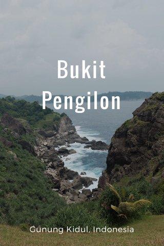 Bukit Pengilon Gunung Kidul, Indonesia