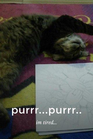 purrr...purrr.. im tired...