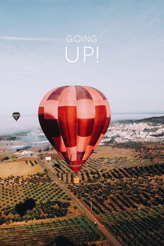UP! GOING