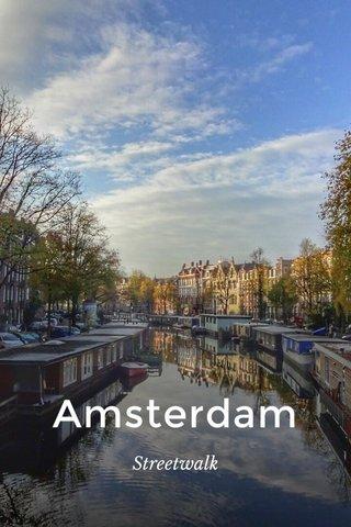 Amsterdam Streetwalk