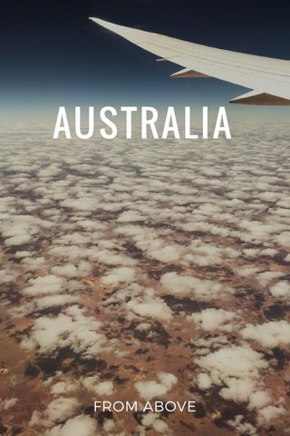 AUSTRALIA FROM ABOVE